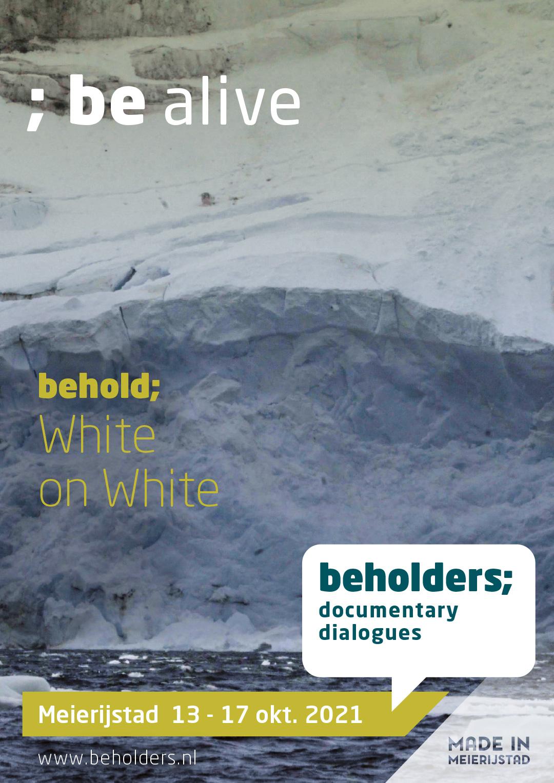 Beholders - White on White - Poster 2021